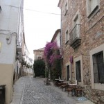 Extremadura Gasse in Caceres