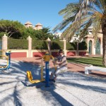 Fitness in Andalusien 4