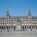 Der imposante Plaza Mayor in Madrid.
